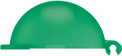 KBT DUST CAP GREEN TRANSPARENT