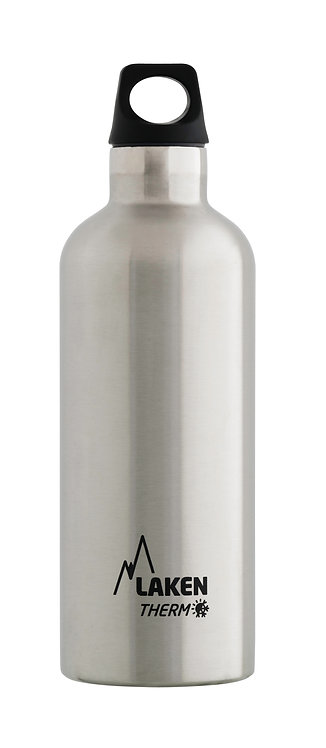 LAKEN ST. STEEL THERMO BOTTLE - 0.5L - PLAIN