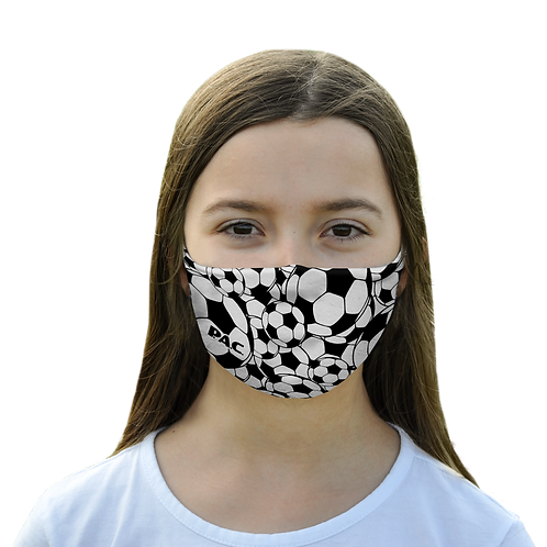 PAC MOUTH NOSE MASK KIDS SOCCER