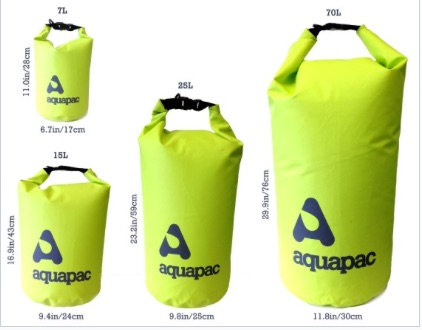 TRAILPROOF DRYBAG 70L GREEN