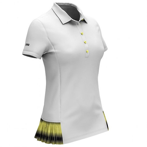COLMAR WOMEN'S POLO SHIRT WITH SHADED PLEATING CODE.8713