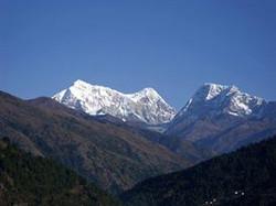 Numbur Himal from Phaplu