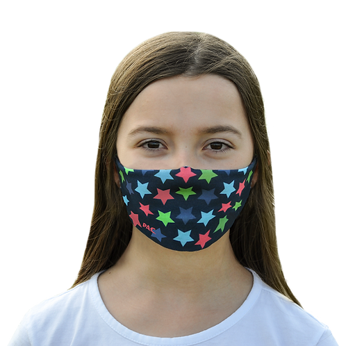 PAC MOUTH NOSE MASK KIDS ASTERISK