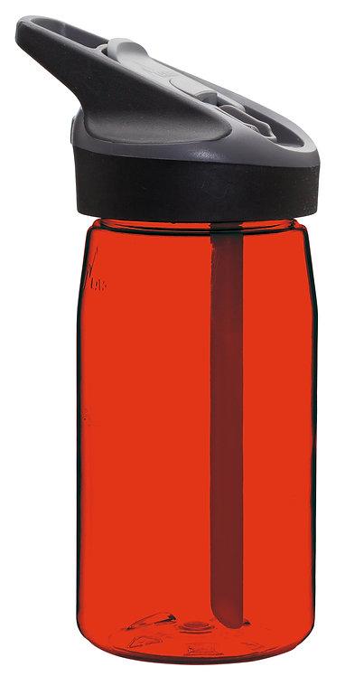 LAKEN TRITAN BOTTLE 0.45L RED JANNU CAP