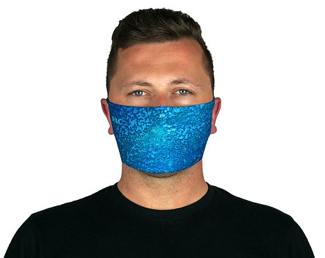 PAC MOUTH NOSE MASK BLUE REEF