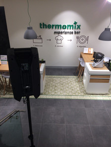 inauguration experience bar Thermomix Paris