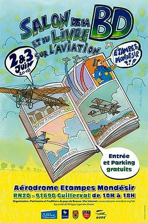 Salon de la BD sur l'Aviation Etampes Mondesir