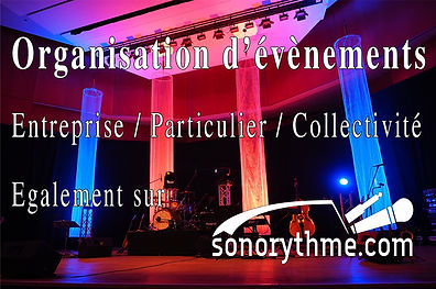Prestataire son - organisation d'évènements - concerts