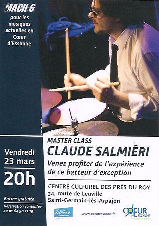 Show case Claude Salmieri