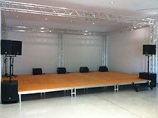 vente installation sonorisation scne et structure