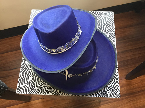 Royal Blue Accessory Hat