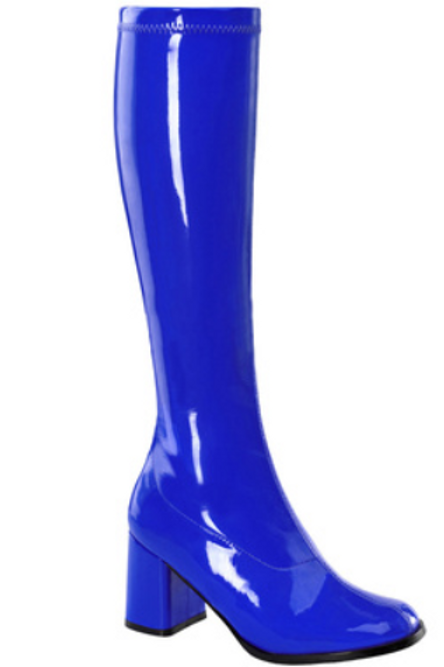 Royal Blue Gogo Boot