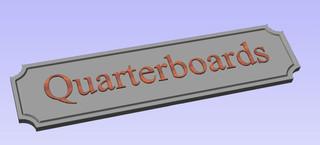 Quarterboards
