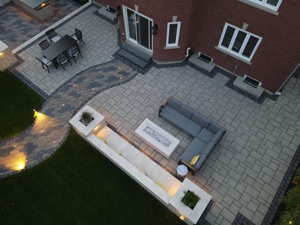 Backyard Interlock Project