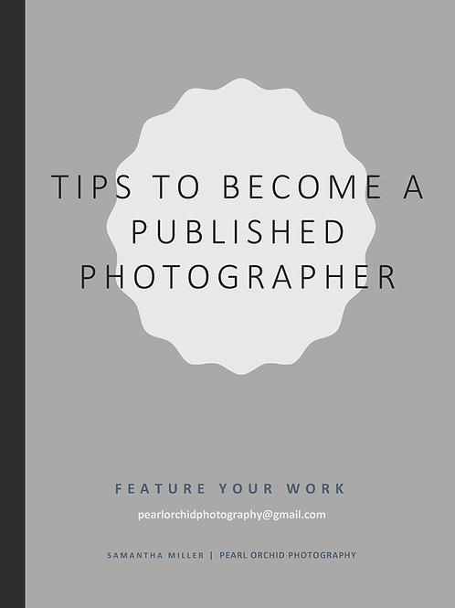 Tips To Become A Published Photographer