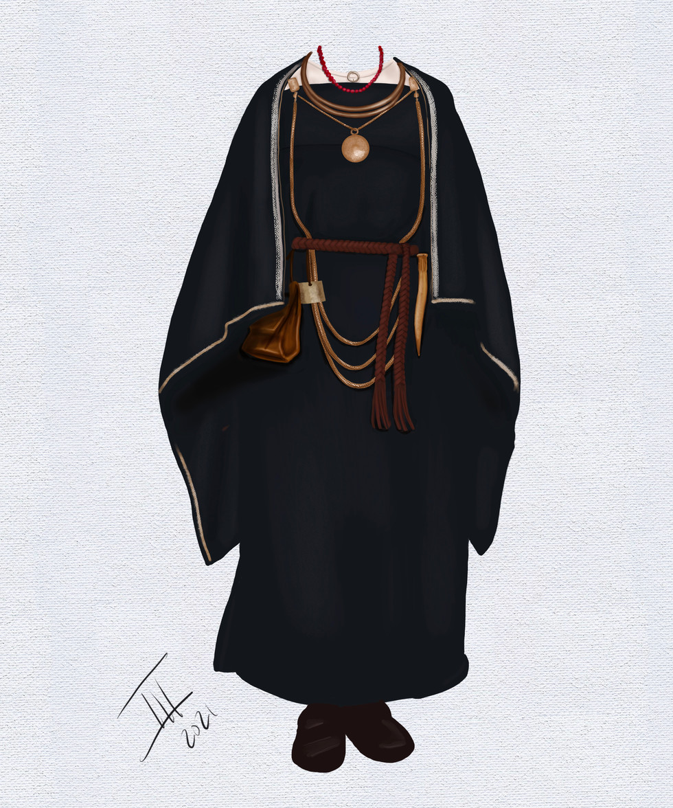 Finnish Traditional Dress