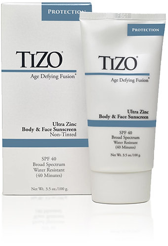 TIZO Ultra Zinc Body & Face Sunscreen Tinted SPF 40 , 3.5 oz