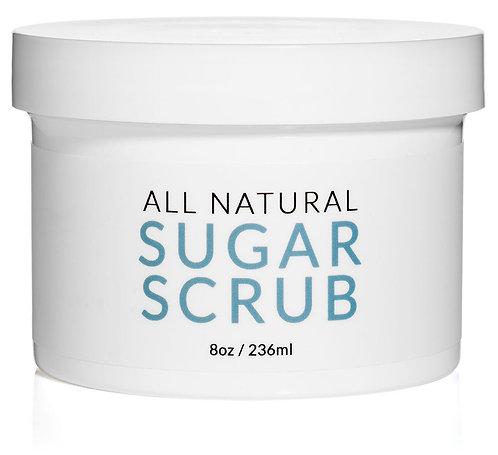 Sjolie All Natural Sugar Scrub - 8 oz