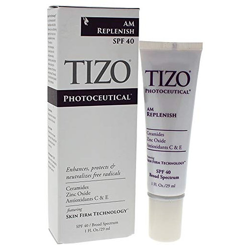 TIZO Photoceutical AM Replenish SPF 40 Sunscreen Primer, 1 fl. oz.