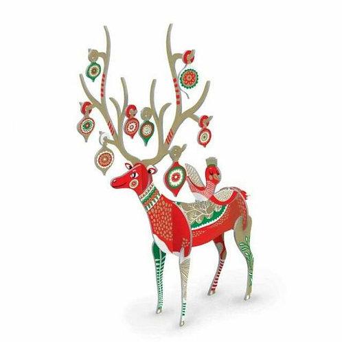 Folklore Reindeer Pop & Slot Decoration