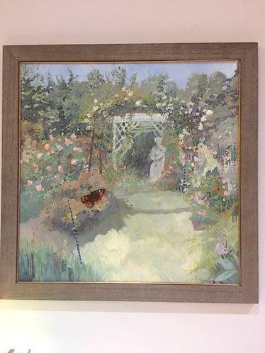 East Lothian garden atTyninghame House Nr Dunbar, Brenda Lenaghan RSW