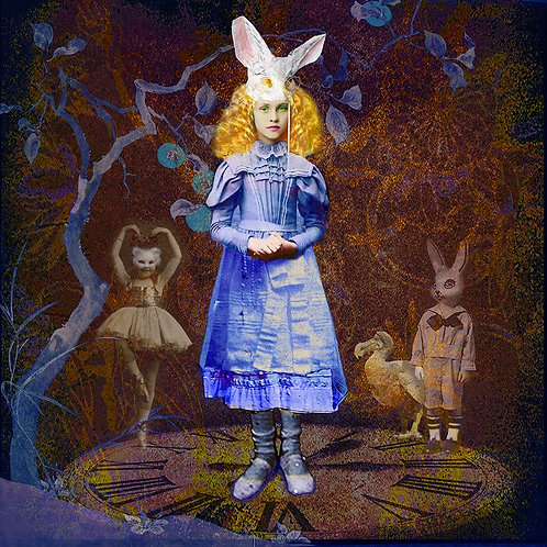 Ashley Cook - Encounters In Wonderland Digital Print