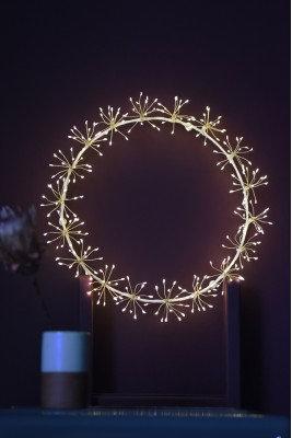 Starburst Wreath - Mains 35cm (white)