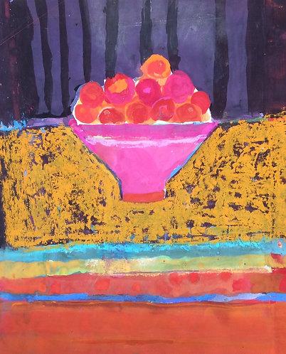 Hazel Campbell - Pink Bowl