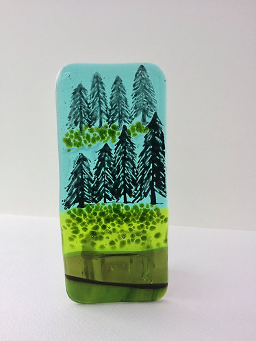 Xmas Landscape T-Light Holder