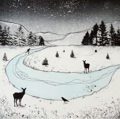 Fiona Watson Etchings & Digital Art