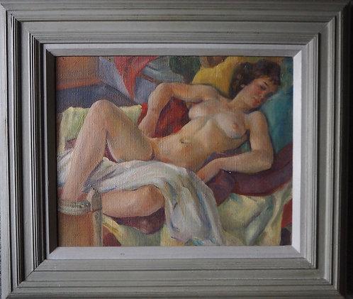 Dorothy King (1907-1990), Reclining Nude