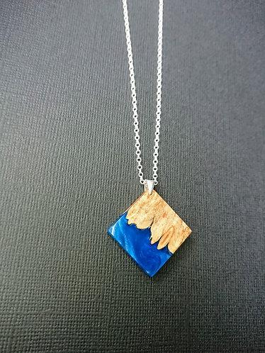 Just Beee - Blue Wood & Resin