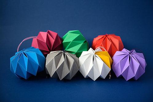 Kate Colin Design - Geometric Baubles