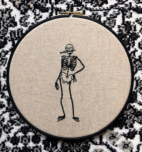 Gem Travers - Ritual, Embroidery on 238gsm Linen