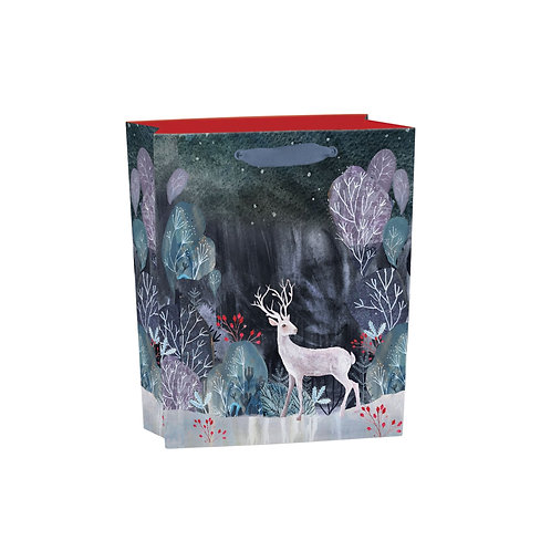 Silver Stag Gift Bag - Medium