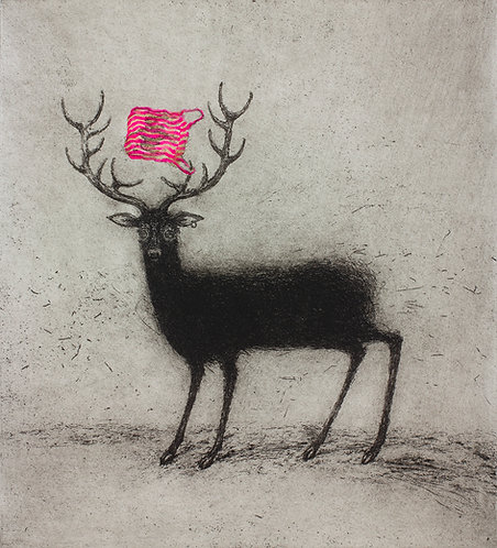 Alasdair Wallace - Bag Stag (Pink)