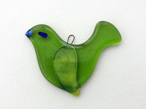 Hanging Green Bird