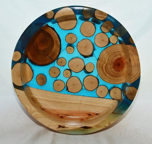 Moorholm Woodcraft Wood & Resin Bowl