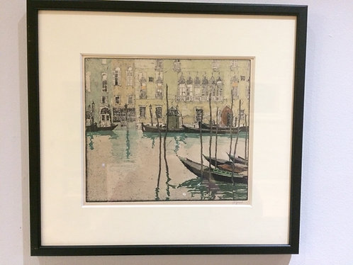 Venice, Hans Figura (1898-1978)