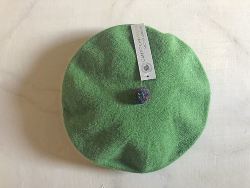 Greengrove Weavers - Pompom Beret Meadow