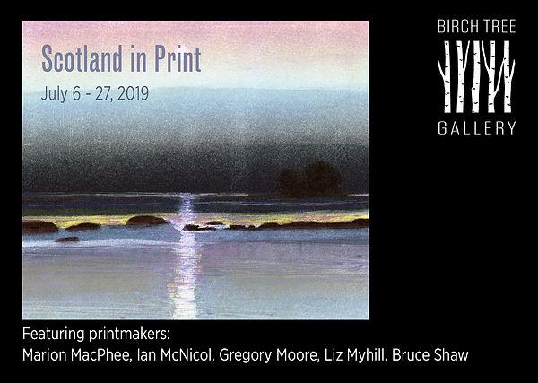 Birch Tree Gallery - ad Scotland in Prin