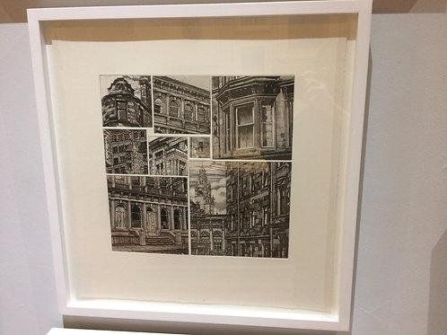 Glasgow Grid II - Framed