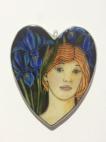 June Flower Girl - Irises