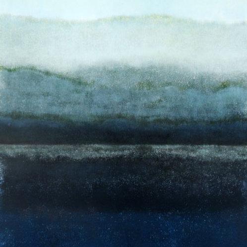 Scottish Loch 3 Monoprint