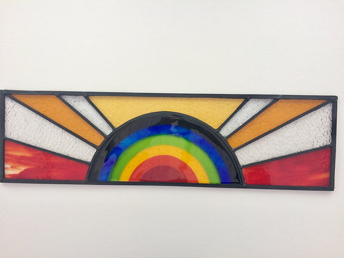 Rainbow Fanlight Window