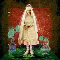 Ashley Cook - Temptations in Wonderland Digital Print
