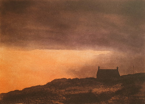 Greg Moore - Last Light, Etching