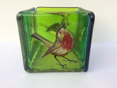 Garden Birds Candle Box