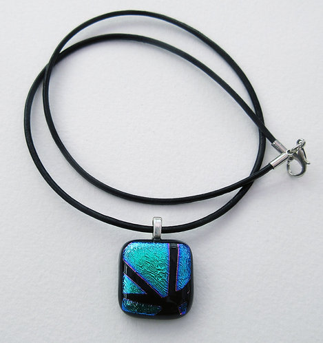 Square Pendant with Cord