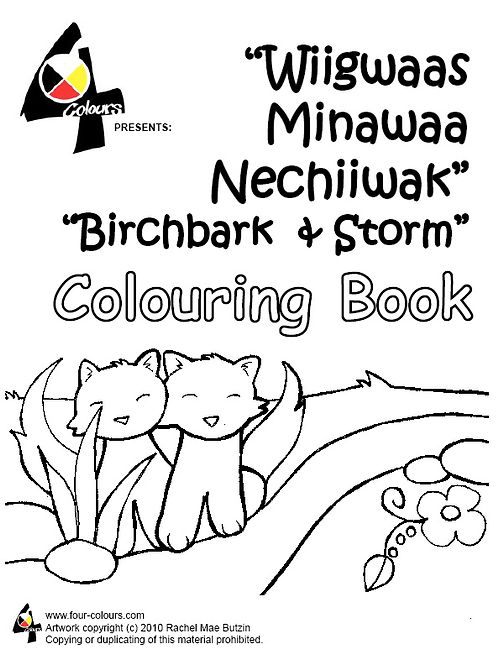 Coloring Book - Birchbark and Storm